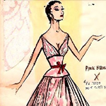 Gown designed for Peggy Lee