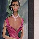 Gowns designed for Lena Horne